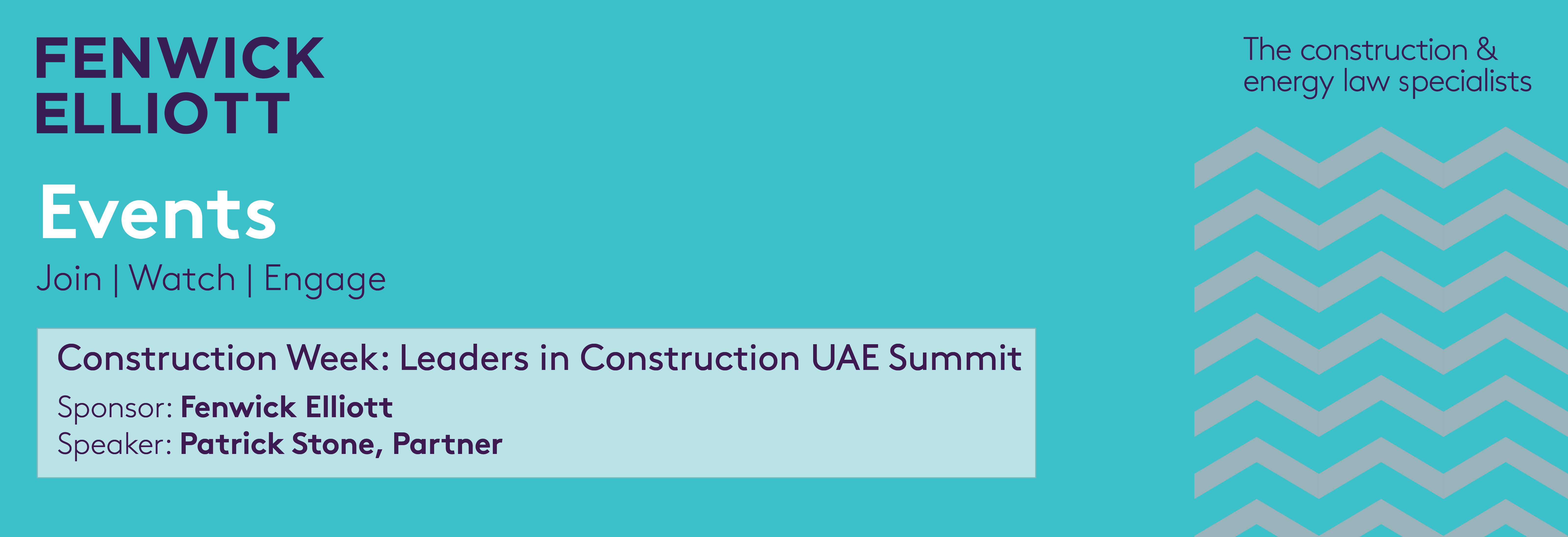 Leaders in Construction UAE Summit banner