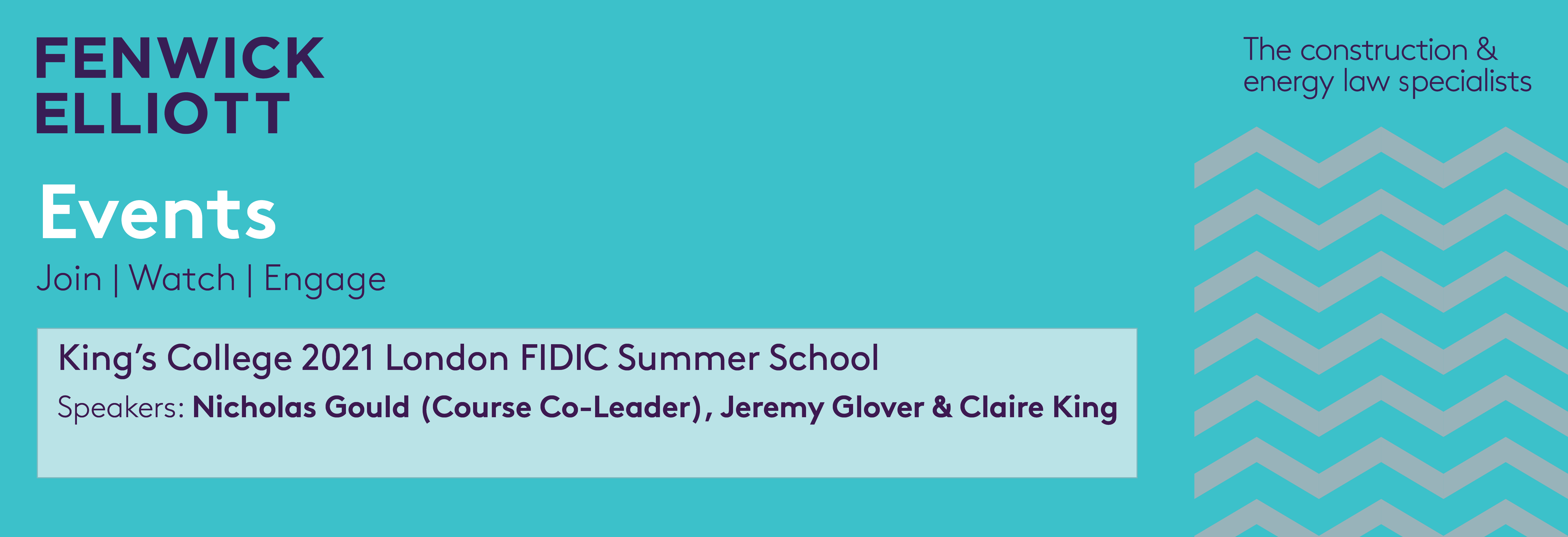Kings College FIDIC Summer School 2021